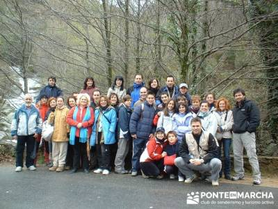 Turismo Activo - Valle del Jerte; senderismo en cercedilla